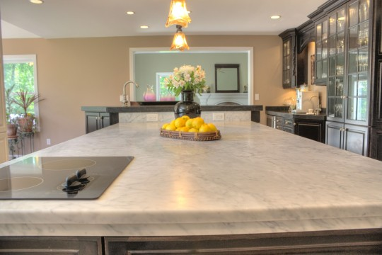 Choosing a honed or polished marble counter for How to hone marble