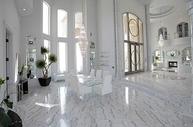 White Marble Floors Pleasing Why Is My Lightcolored Marble Yellowing Decorating Inspiration