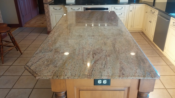 Granite Countertop Edge Chip Repair : Cecilia Granite Counter Repair and Restoration