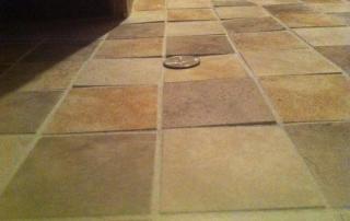 Uneven Floor Tiles