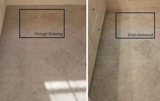 Orange Stain Removal