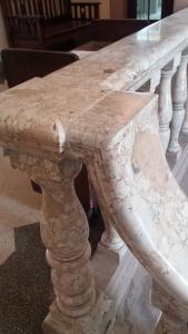 Final marble railing repair2