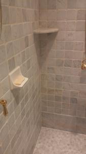After Photos of Carrara Marble Bathroom Shower Restoration
