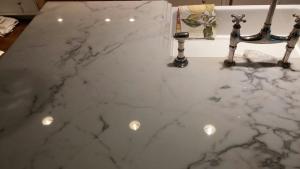 After - Statuario Marble Stone Restoration