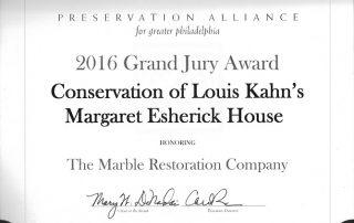 Preservation Alliance Award